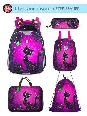 212501 Комплект школьный(Ранец + рюкзак + пенал + папка + мешок для обуви)