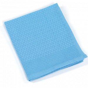 Полотенце вафельное г/к 35х60 ТМ Маруся голубой
