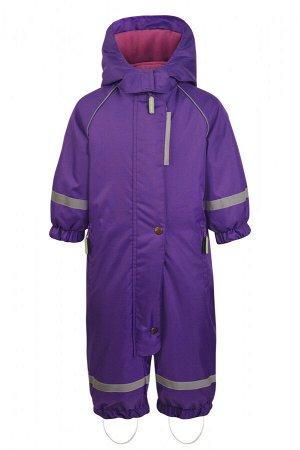 Осенний комбинезон для девочки (осень-зима), LOLLO 7050 Фиолетовый