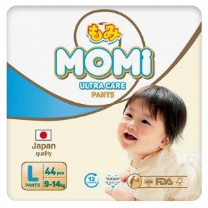 MOMI Ultra Care подгузники-трусики  L (9-14 кг) 44  шт
