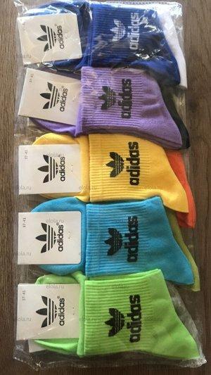 Брендовые женские носки хлопок цвета: микс