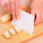 Нож-шпатель для резки теста
