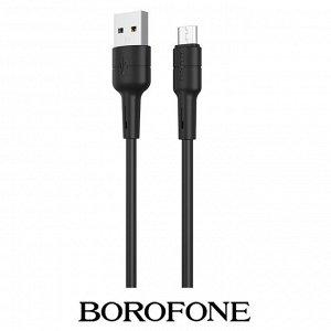 USB кабель Borofone BX30 Micro USB / 2.4A