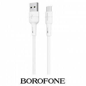 USB кабель Borofone BX30 Type-C / 3A