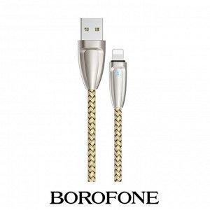 USB кабель Borofone BU3 Lightning / 2.4A