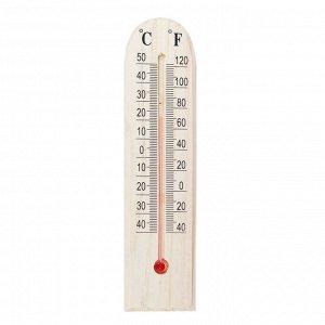 Термометр деревянный, 1х4,5х19,5см