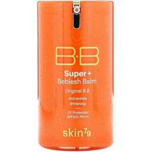ББ крем для лица Skin79 Super+ Beblesh Balm SPF50+/PA+++ Orange, 40мл