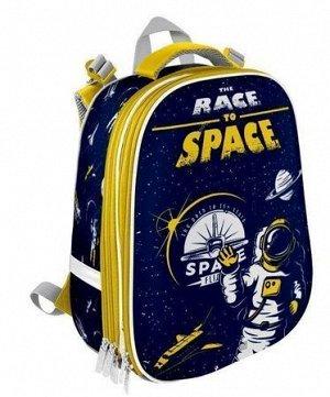 "Рюкзак школьный ERGONOMIC+ ""Race to space"" 38х30х20 см РЮКЖКРД-РТС SchoolФормат {Китай}"