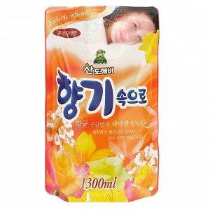 Кондиционер для белья Фрезия Soft Aroma Fresia 1300мл (мягкая упаковка)