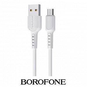 USB Кабель Borofone Easy Charging Micro USB / 2A