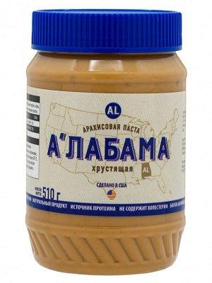 """Паста арахисовая """"А'лабама"""" хрустящая, 510 г., США"""