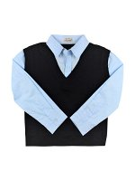 Рубашка для мальчиков (голубой)