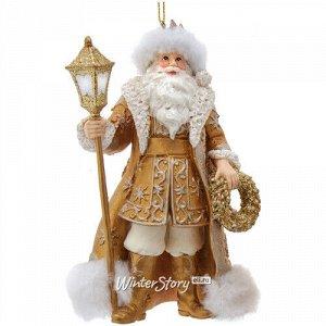Елочная игрушка Санта-Клаус из Штутгарта 13 см, подвеска (Kurts Adler)