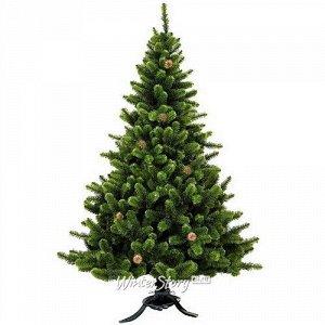 Искусственная елка Сказка с шишками 120 см, ЛЕСКА (MOROZCO)