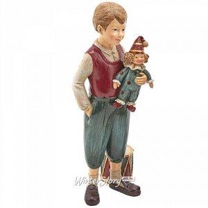 Декоративная фигурка Мальчик Ганзель - Сказка Братьев Гримм 21 см (EDG)