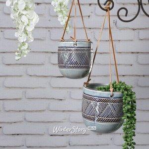 Набор подвесных кашпо Murezzan 10-14 см, 2 шт, керамика (Kaemingk)