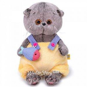 Мягкая игрушка Кот Басик Baby в меховом комбинезоне 20 см (Budi Basa)