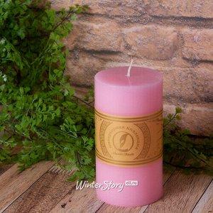 Декоративная свеча Ливорно 150*80 мм розовая (Омский Свечной)