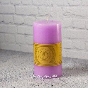 Декоративная свеча Ливорно 150*80 мм сиреневая (Омский Свечной)