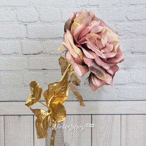 Искусственная роза Глория Деи 57 см, розовая (EDG)