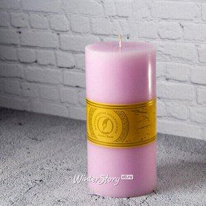 Декоративная свеча Ливорно 205*100 мм сиреневая (Омский Свечной)