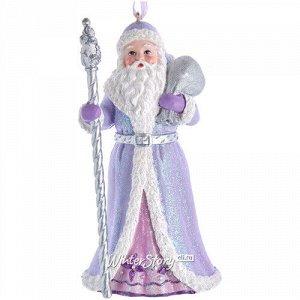 Елочная игрушка Санта Клаус из долины Луары 13 см с подарками, подвеска (Kurts Adler)