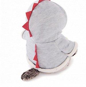 Мягкая игрушка «Басик» в толстовке дракончик, 22 см