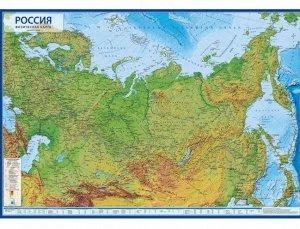 Интерактивная карта России физическая