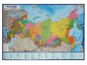 Интерактивная карта России политико-административная