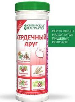 Клетчатка Сибирская Сердечный друг 170гр