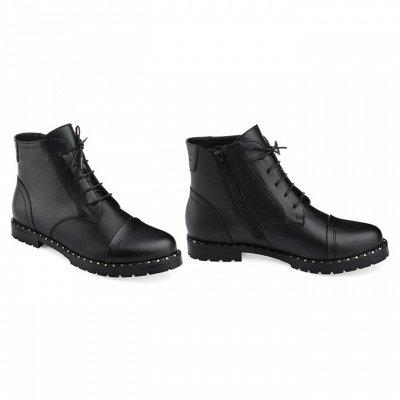 Sateg-8. Обувь из натуральной кожи 33-43 размера — Демисезон. Женские ботинки, ботильоны