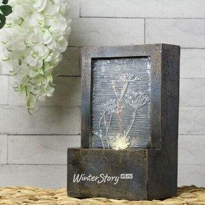 Декоративный фонтан Пронтера 23*15 см с LED подсветкой (Kaemingk)