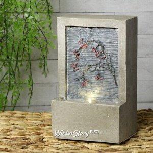 Декоративный фонтан Геффен 23*15 см с LED подсветкой (Kaemingk)