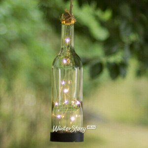 Садовый светильник Solar Светлячки в Бутылке на солнечной батарее 30*7.5 см, IP44 (Star Trading)