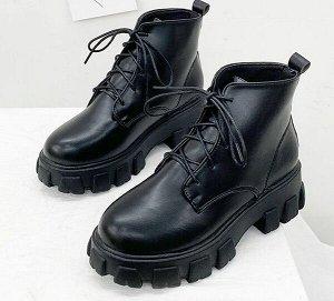 Ботинки, матовый