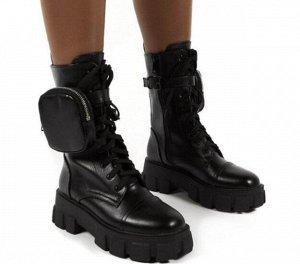 Ботинки, черный