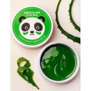 Гидрогелевые патчи с водорослями seaweed collagen eye gel mask fresh moisturizing silky