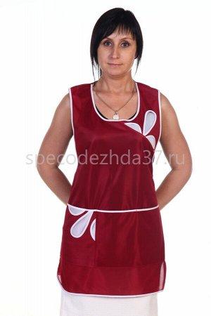 Сарафан женский АР1 цв.бордо тк.нейлон