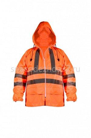 Куртка влагозащитная «Комфорт» с СОП цв.оранжевый