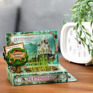 Растущая травка в открытке «Екатеринбург»