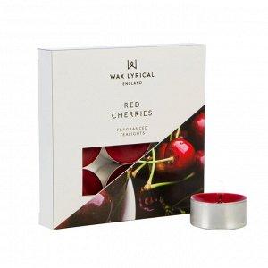 Набор ароматических чайных свечей Вишня 9 шт.