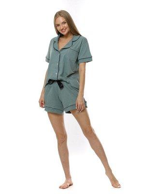 Пижама женская Полынь(шорты) кулирка