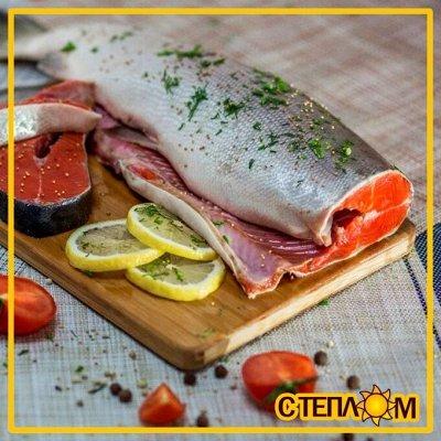 Рыбные стейки! ✔ SEAZAM — 🐟 Рыбка ЦЕЛАЯ. Сёмга, голец, терпуг, форель, палтус, навага