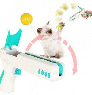 Интерактивная игрушка Пистолет для кошек