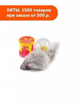 Игрушка Набор для кошек Мышь, барабанчик, шар