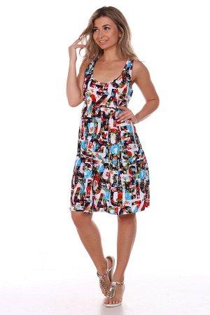 Платье женское, буквы