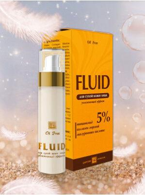 FLUID для сухой кожи увлажняющий эффект, 30 г