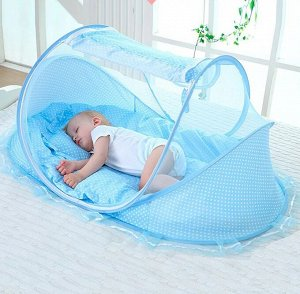 Портативная детская складная кровать