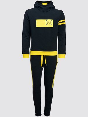 Костюм спортивный: толстовка и брюки джоггеры со средней посадкой