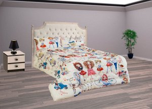 """Одеяло ОПЛП - 15 с детским рисунком """"Стиляги"""""""